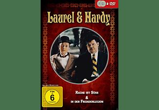 Laurel & Hardy: Rache ist süss & In der Fremdenlegion DVD