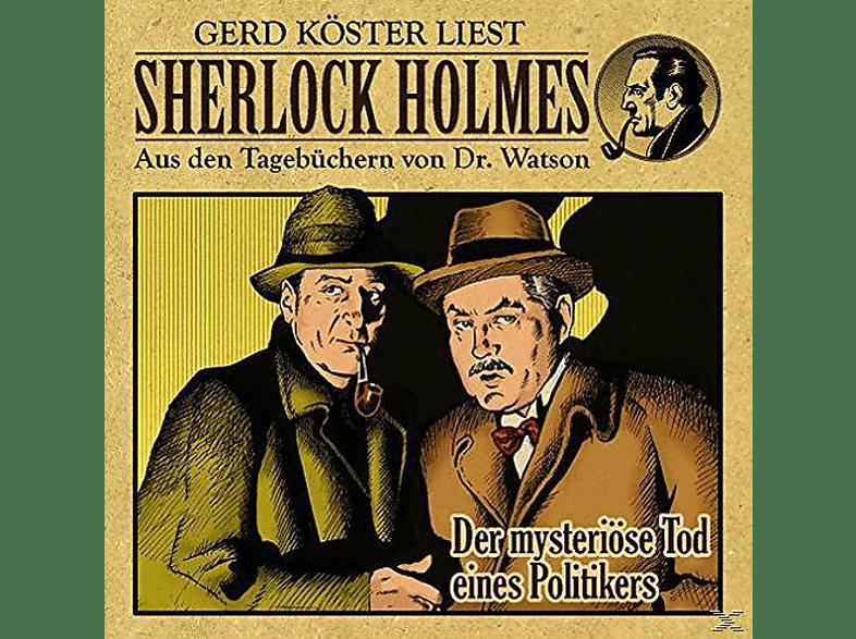 Sherlock Holmes - Der Mysteriöse Tod Eines Politikers - (CD)