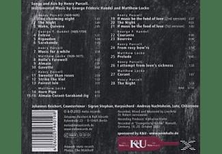 Johannes Reichert, Sigrun Stephan, Nachtsheim - Magic Night-Purcell Handel Locke  - (CD)
