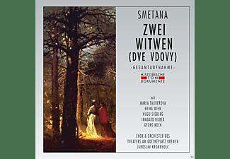 Maria Tauberova, Erika Wien, Hugo Sieberg, Irmgard Huber, Georg Koch, Chor & Orchester des Theaters am Goetheplatz Bremen - Zwei Witwen  - (CD)