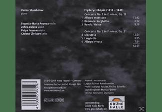 Vesko Stambolov - Klavierkonzerte 1 & 2 Chamber Versi  - (CD)