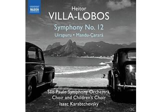 Sao Paulo Symphony Choir And Childr - Sinfonie 12/Uirapuru/Mandu-Carara - (CD)