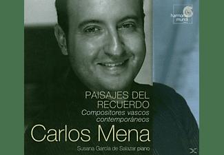 Carlos Mena - PAISAJES DEL RECUERDO  - (CD)