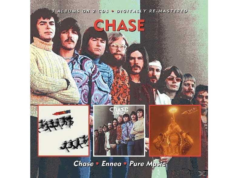 Chase - Chase/Ennea/Pure Music [CD]