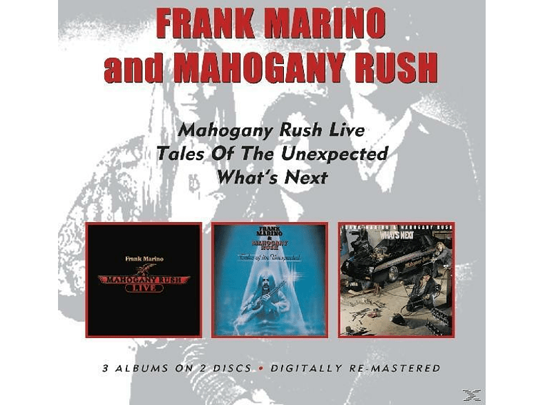 Frank Marino - Live/Tales Of The Unexpected/What's Next [CD]