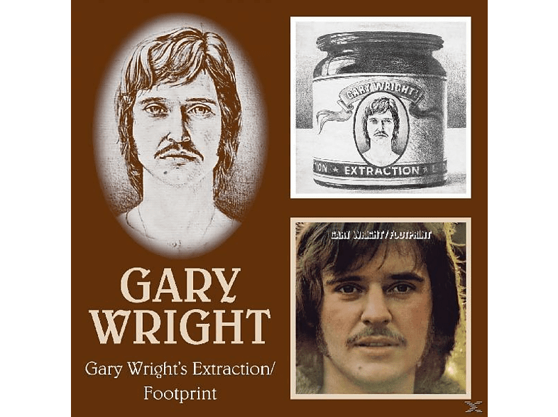 Gary Wright - Gary Wright's Extraction/Footprint [CD]