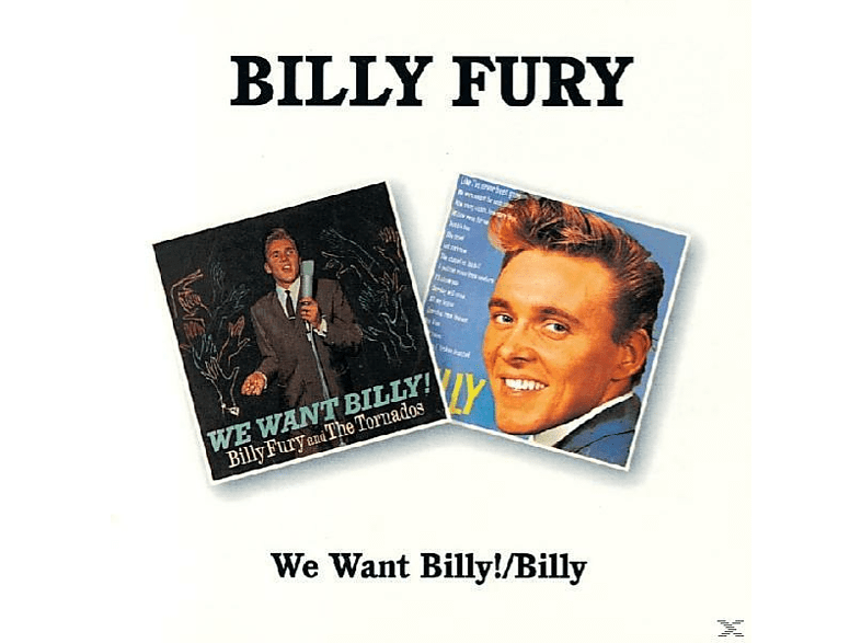 Billy Fury - We Want Billy/Billy [CD]