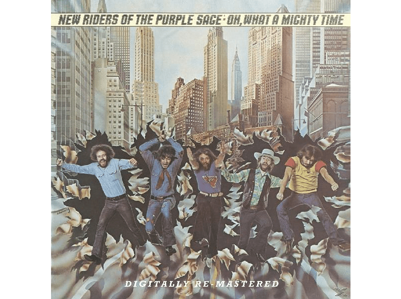 New Riders Of The Purple - Oh What A Mighty Time [CD]