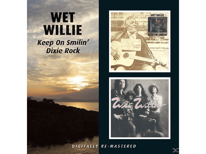 Wet Willie - Keep On Smilin/Dixie Rock [CD]