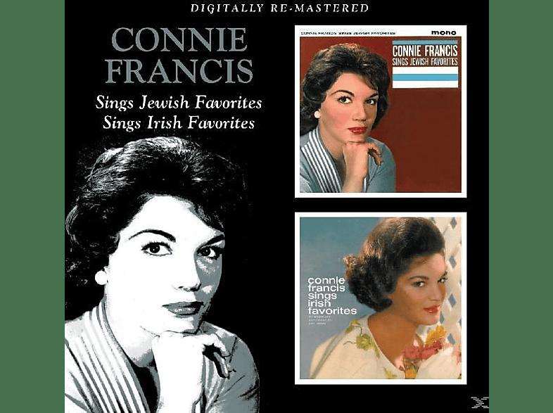 Connie Francis - Sings Jewish Favorites/Sings Irish Favorites [CD]