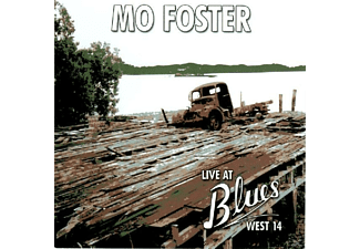 Mo Foster - Live at Blues West 14  - (CD)
