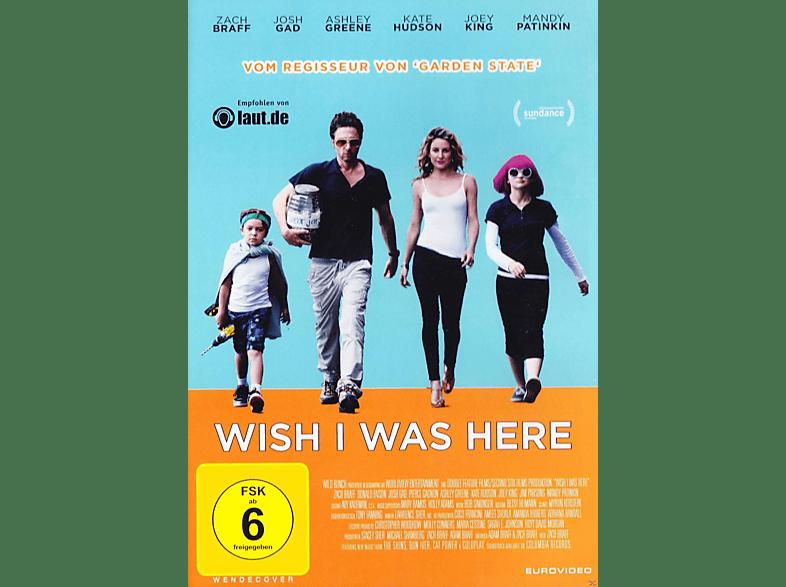Wish I Was Here [DVD]