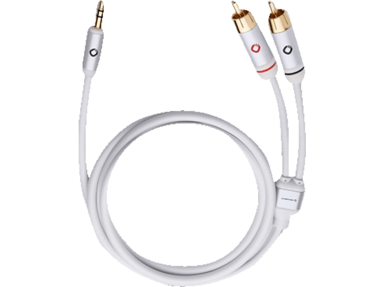 OEHLBACH i-Connect J-35/R Mobiles Audiokabel