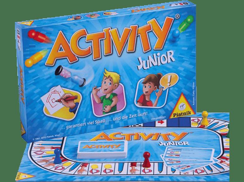 PIATNIK 6012 Activity Junior, Blau