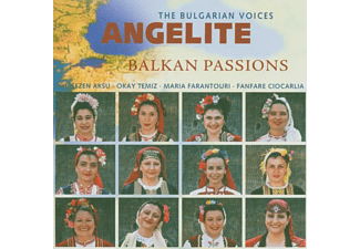 The Bulgarian Voices Angelite - Balkan Passion - (CD)