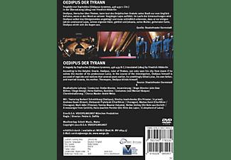 VARIOUS, Staatsorchester Darmstadt - Oedipus Der Tyrann  - (DVD)