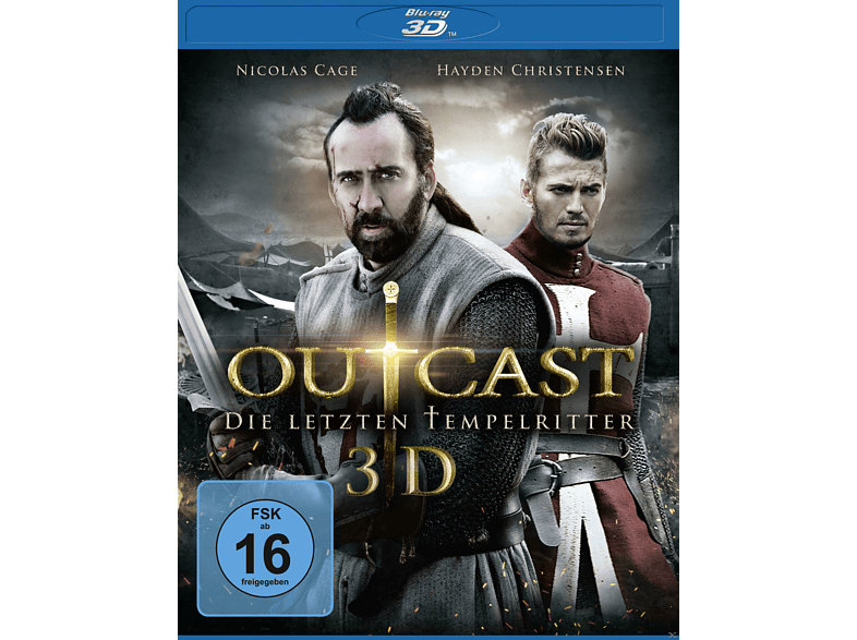 Outcast - Die letzten Tempelritter [3D Blu-ray (+2D)]