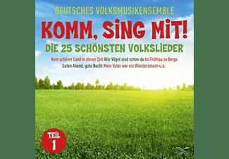 Deutsches Volksmusikensemble - Komm, Sing Mit!-25 Schönste Volkslieder 1  - (CD)