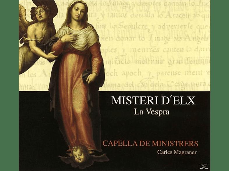 Capella De Ministrers, Carles Magraner - Misteri d'Elx: La Vespra [CD]