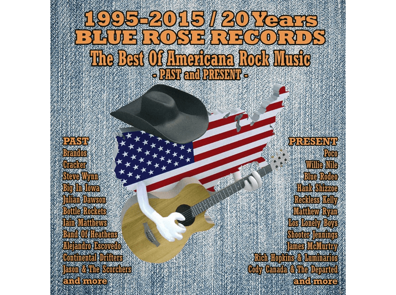Various - Blue Rose Records-Best Of New Americana Rock Music [CD]