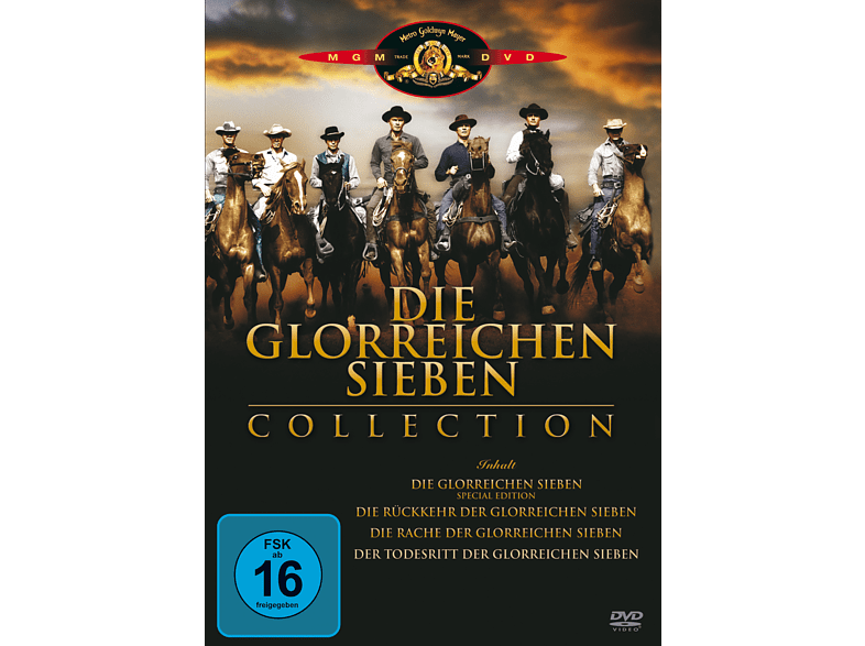 DIE GLORREICHEN SIEBEN (COLLECTION) [DVD]