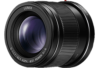 PANASONIC Objektiv Lumix G 42.5mm 1.7 ASPH Power OIS (H-HS043E-K)
