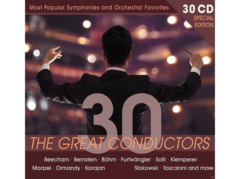 VARIOUS - Special Edition: 30 Great Conductors [CD]