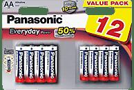 PANASONIC LR6EPS/12BW AA Mignon Batterie Alkaline 12 Stück