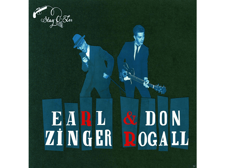 Don Rogall, Earl Zinger - In The Backroom [CD]
