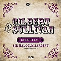 Pro Arte Orchestra - Gilbert & Sullivan: Operetten [CD]