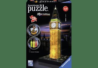 """RAVENSBURGER 3D Puzzle """"Big Ben bei Nacht"""" 3D Puzzle Gold/Schwarz"""