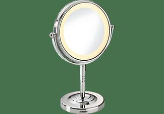 Espejo luminoso - Babyliss 8435E Base antideslizante, Ampliación 5x, 8 LED