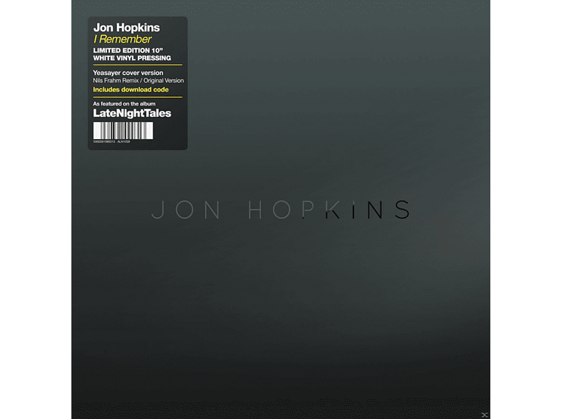 Jon Hopkins - I Remember [Vinyl]