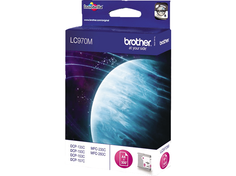 BROTHER Original Tintenpatrone Magenta (LC-970M)