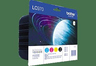 BROTHER LC-970 Tintenpatrone mehrfarbig (LC970VALBPRF)