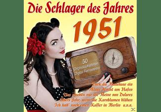 VARIOUS - Die Schlager Des Jahres 1951  - (CD)