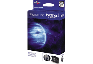 BROTHER Original Tintenpatrone Schwarz (LC-1280XLBK)