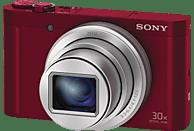 SONY Cyber-shot DSC-WX500 Zeiss Digitalkamera Rot, 18.2 Megapixel, 30x opt. Zoom, TFT-LCD, Xtra Fine, WLAN