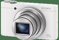 SONY Cyber-shot DSC-WX500 Zeiss Digitalkamera Weiß, 18.2 Megapixel, 30x opt. Zoom, TFT-LCD, Xtra Fine, WLAN