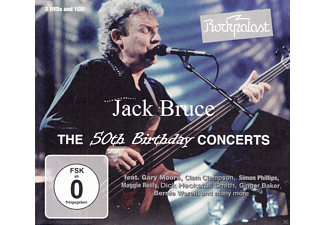 Jack Bruce - Rockpalast: The 50th Birthday Concerts - (CD)