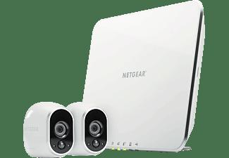 Sistema inteligente de vigilancia - Netgear Arlo VMS3230-100EUS, 2 cámaras y estación de control,