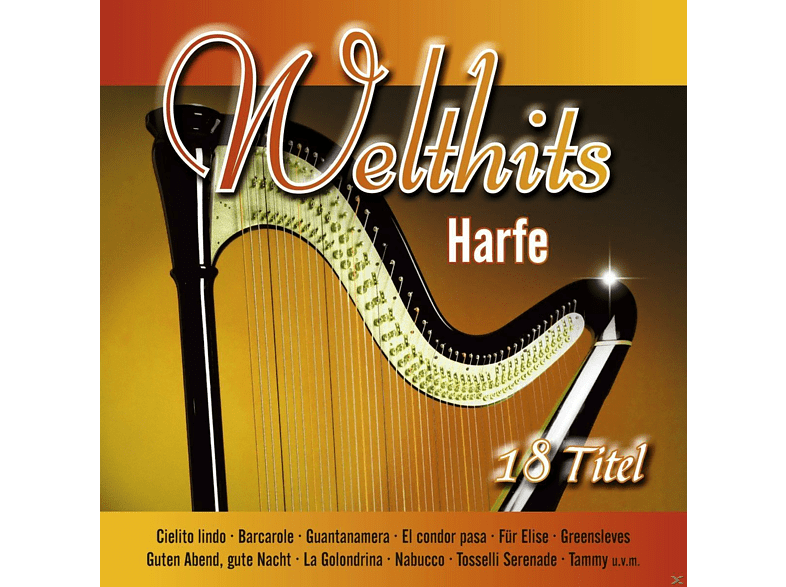 VARIOUS - Welthits - Harfe [CD]