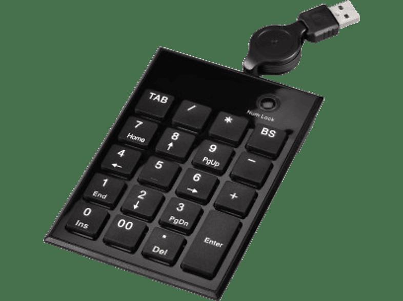 HAMA Clavier numérique Slimline SK140 (50448)