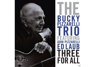Bucky Trio Pizzarelli - Three For All - (CD)