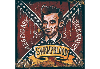 Legendary Shack Shakers - Swampblood  - (CD)