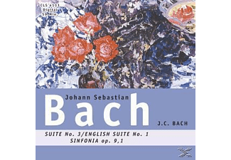 Johann Sebastian Bach - Suite 3-English Suite 1 - (CD)