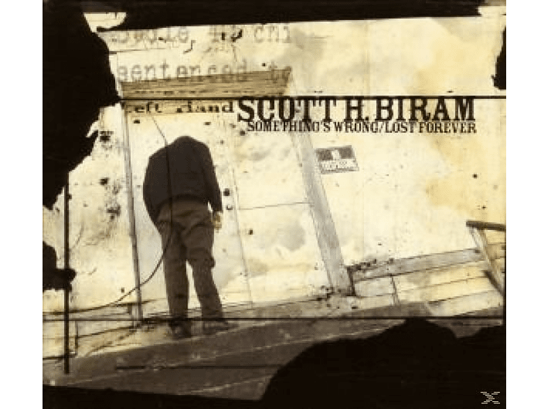 Scott H. Biram - Something's Wrong/Lost Forever [CD]