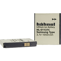 HÄHNEL HL-S1137C für Samsung SLB-1137C HL-S1137C Akku, Li-Ion, 3.7 Volt, 1050 mAh