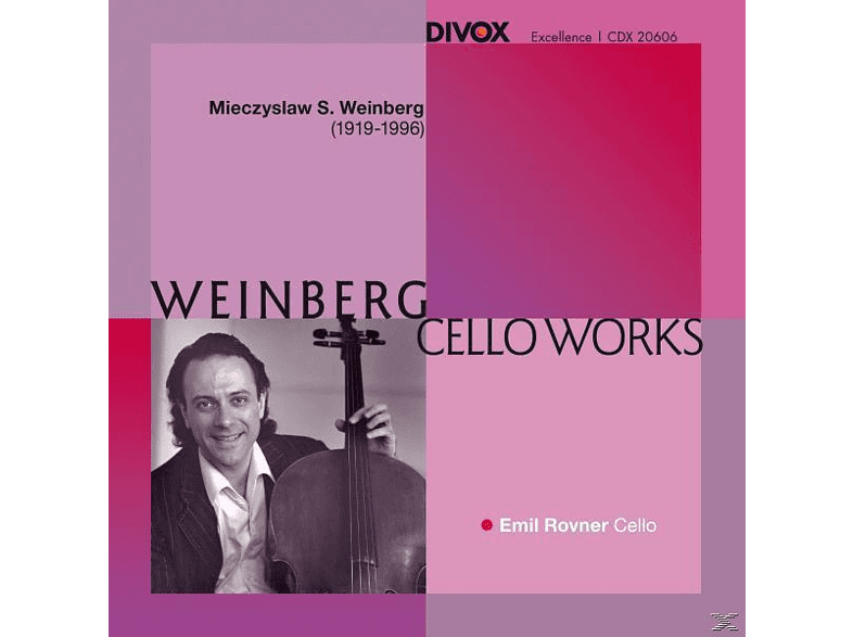 Emil Rovner - Cello Works [CD]
