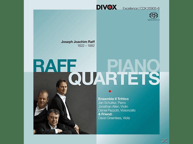 David Ensemble Il Trittico & Greenlees - Klavierquartette [SACD]